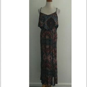 American Eagle Spaghetti Strap Maxi Dress sz M